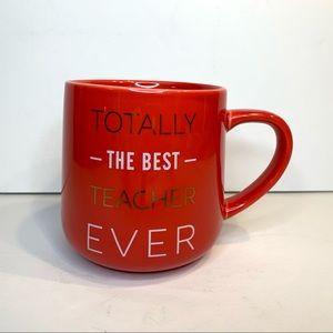 3/$30 Teacher Gift Mug  Indigo NWOT